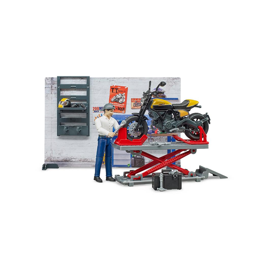 Taller mecánico Ducati – Ref. Bruder 62102