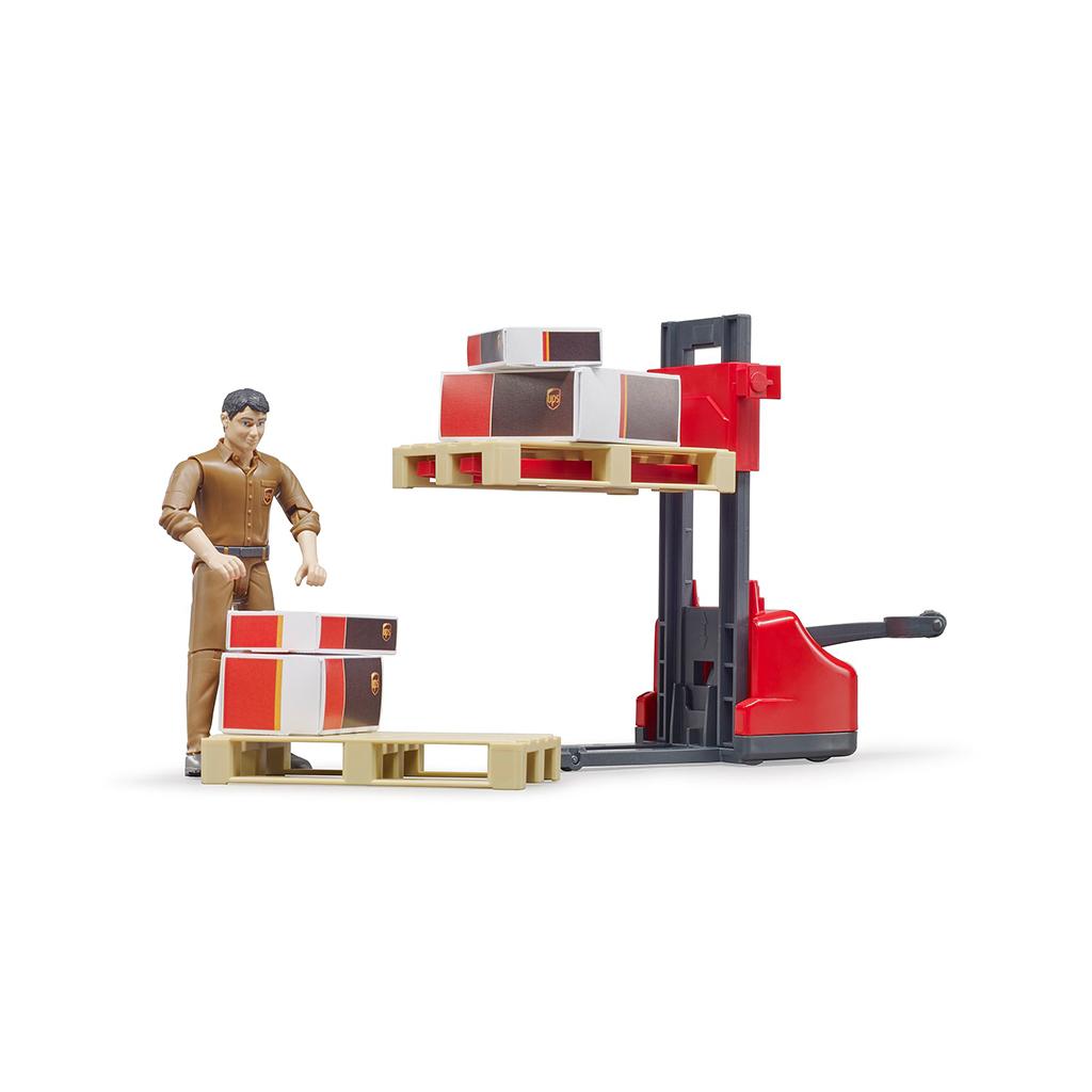 Set Logistico UPS – Ref. Bruder 62210
