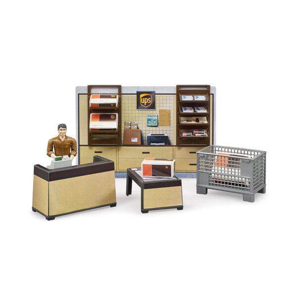 Oficina de Paquetería UPS Bruder Bworld – Ref. 62250 - 1