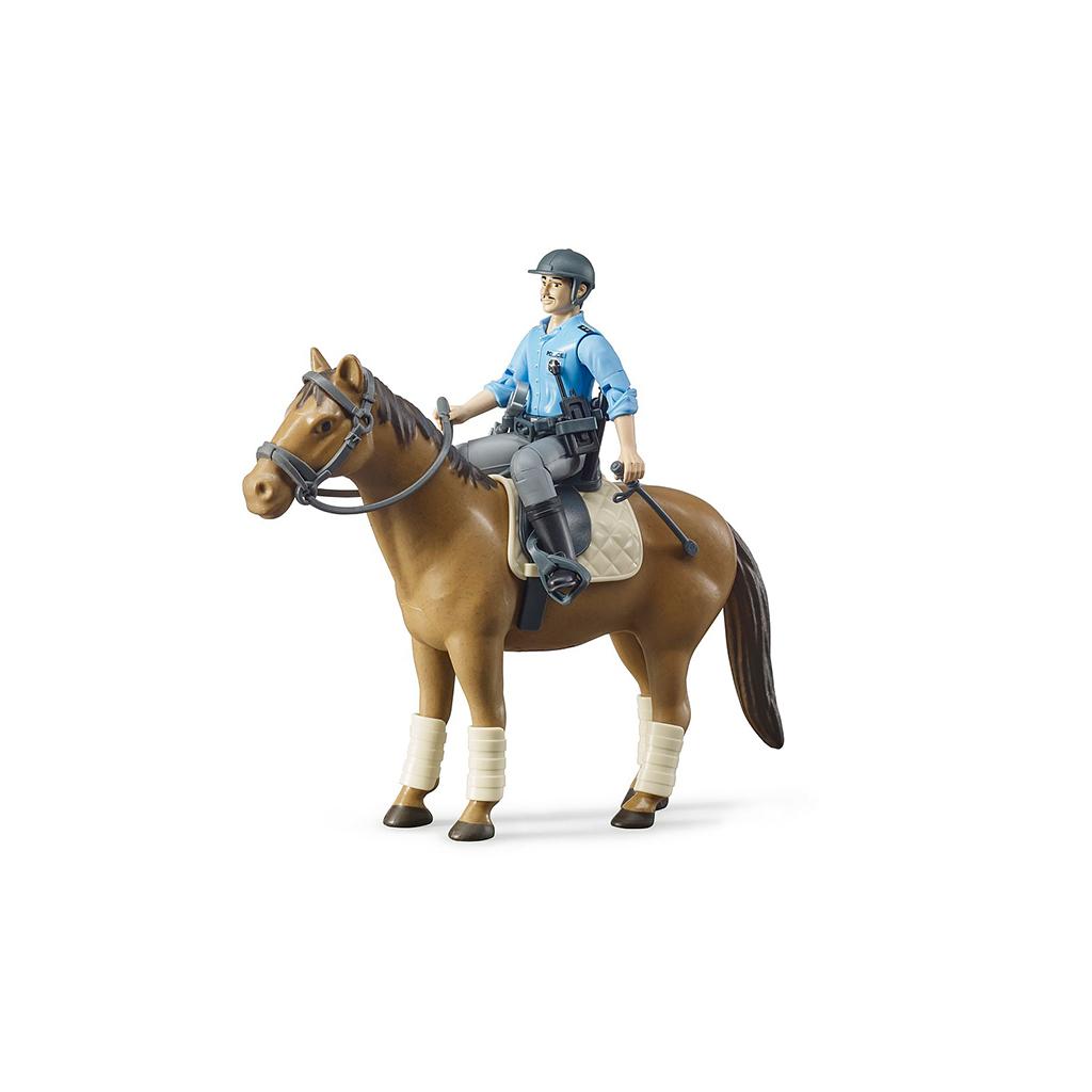 Policía a Caballo – Ref. Bruder 62507