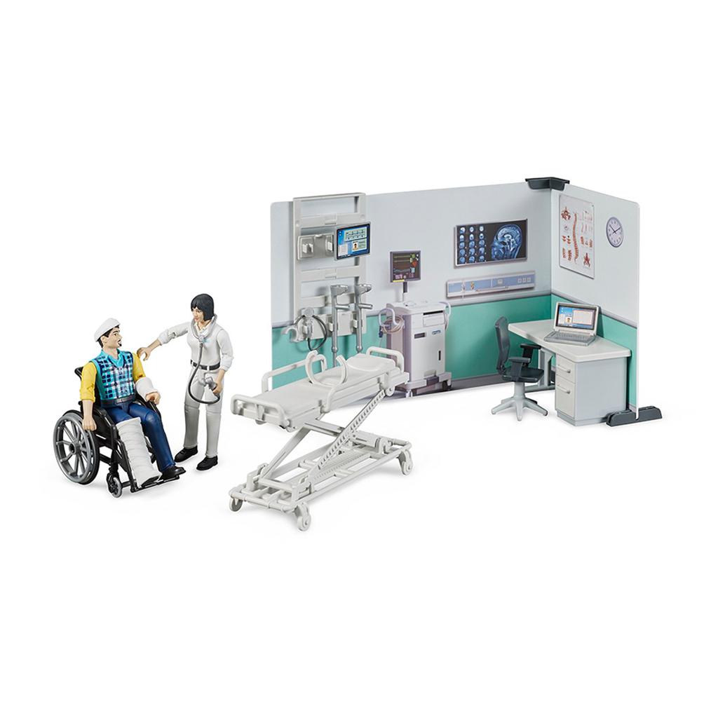 Set de Centro Médico con Figuras – Ref. Bruder 62711