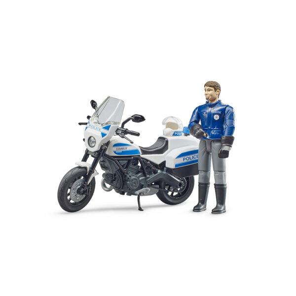 Policía con Moto Ducati – Ref. Bruder 62731