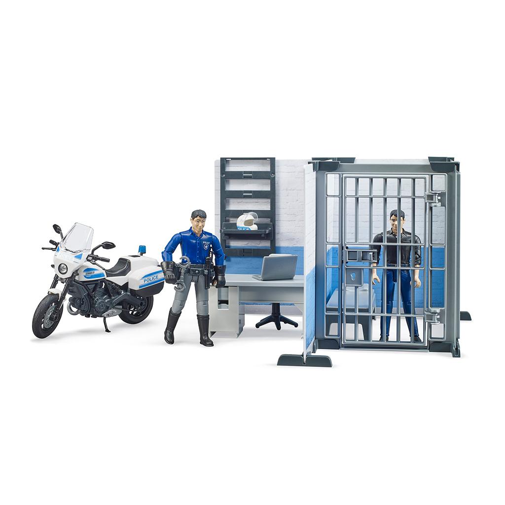 Comisaría De Policía Con Moto Bruder Bworld – Ref. 62732