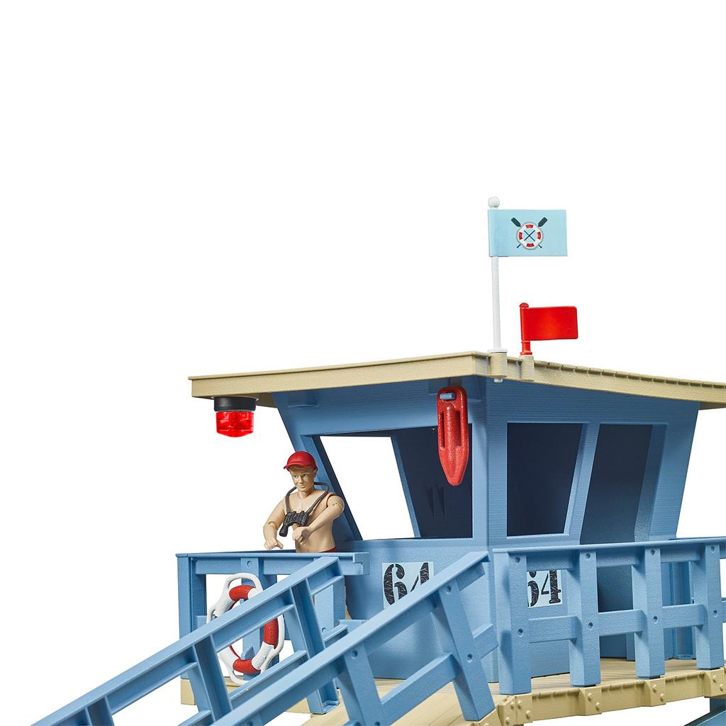 Puesto de Salvamento Marítimo con Quad y Moto Acuática Bruder Bworld – Ref. 62780 - 1