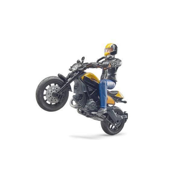 Motorista con Ducati – Ref. Bruder 63053