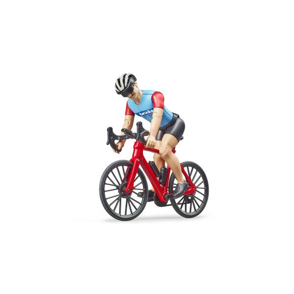 Ciclista con Bicicleta de Carretera – Ref. Bruder 63110