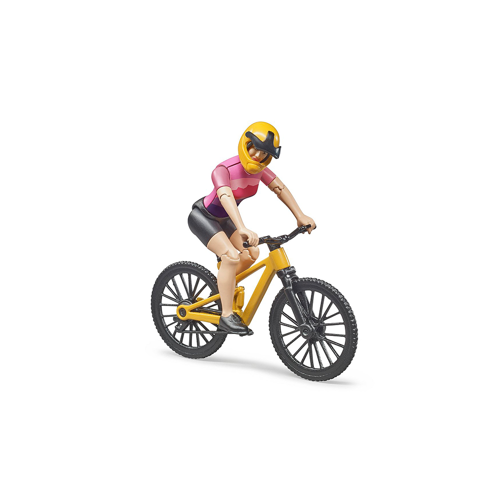 Ciclista con Bicicleta de Montaña – Ref. Bruder 63111