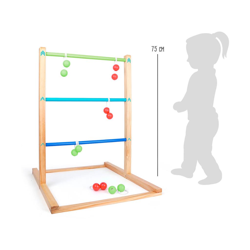 Juego de Lanzamiento Gigante- Juegos de Madera para niños