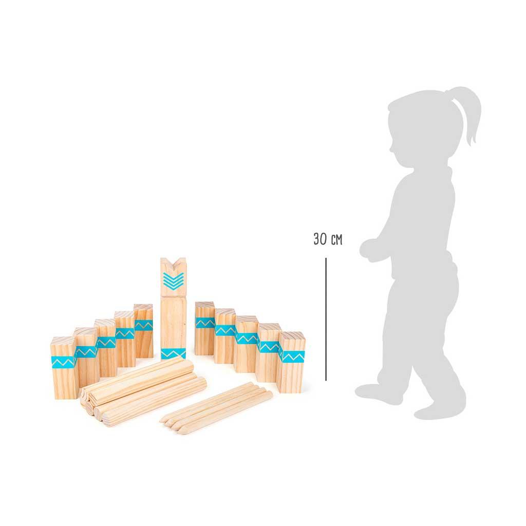 Juego Vikingo Kubb - Juegos de Madera para niños