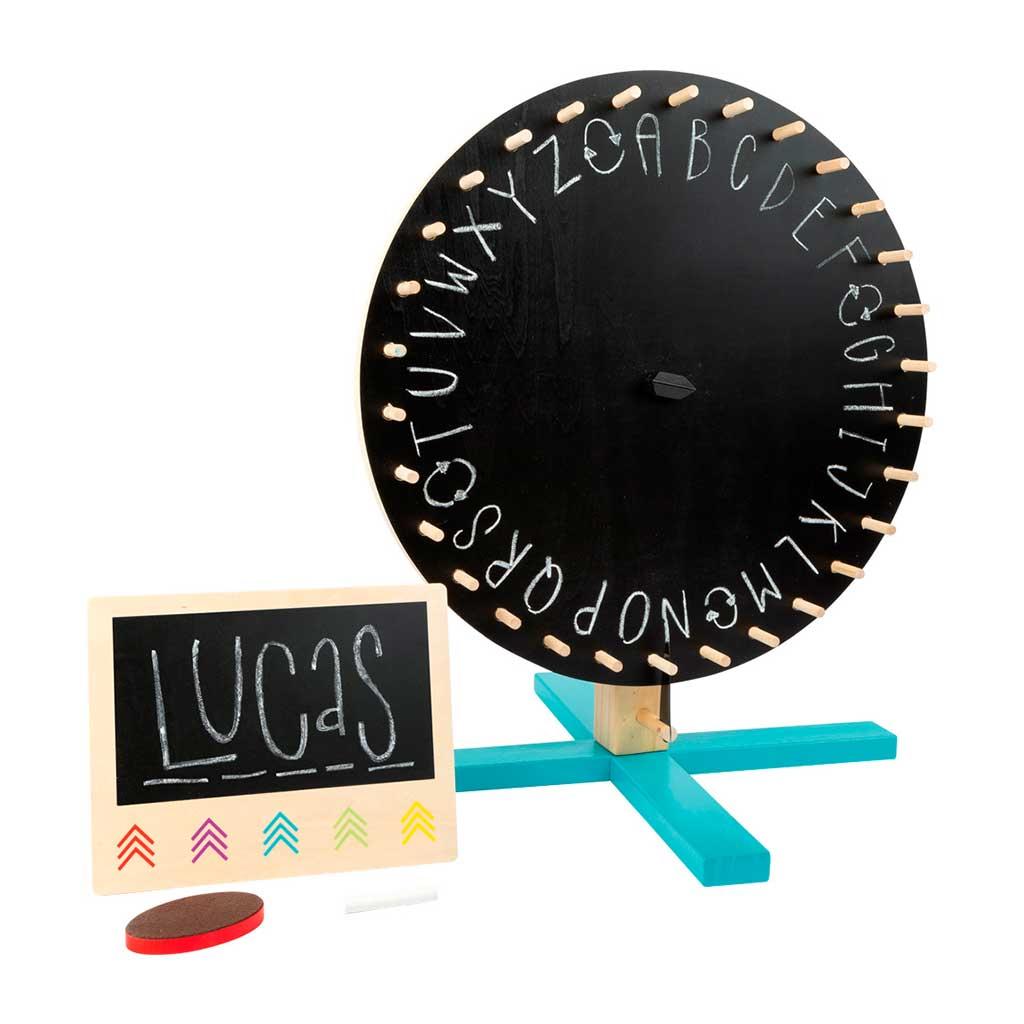 Ruleta de la Fortuna Multijuegos - Juegos de Madera para niños