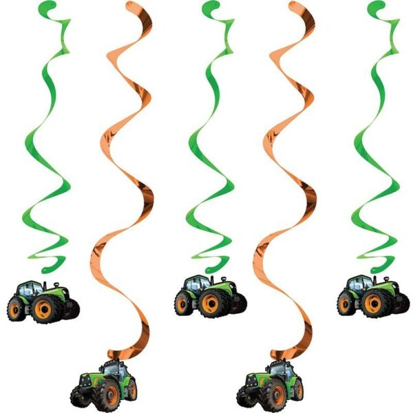 Pack de Elementos Decorativos Tractor Time