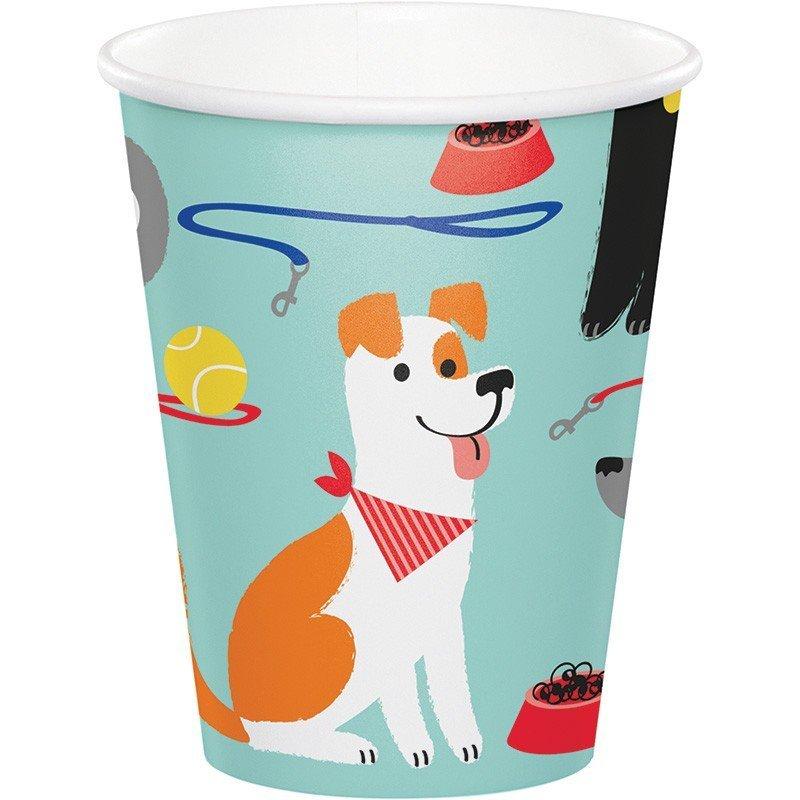 Pack de 8 Vasos Perros