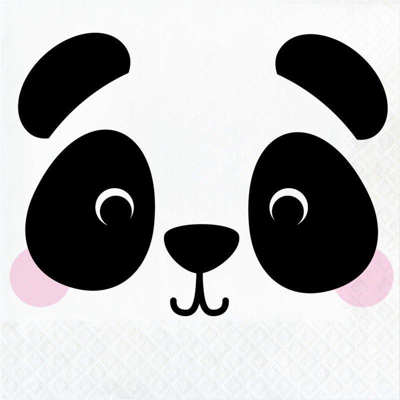 Pack 16 Servilletas 33 cm Panda