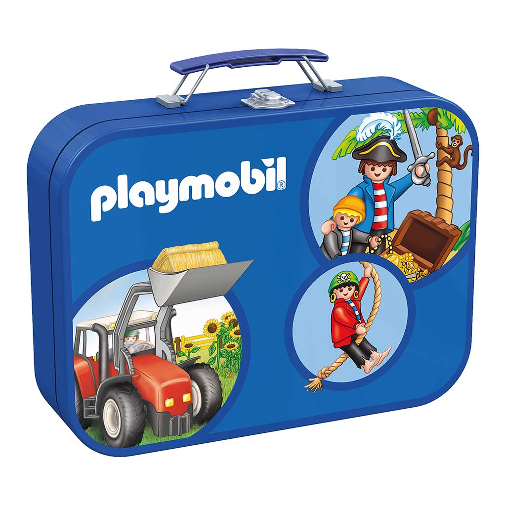 Maletín Multi Puzzle Playmobil - 1