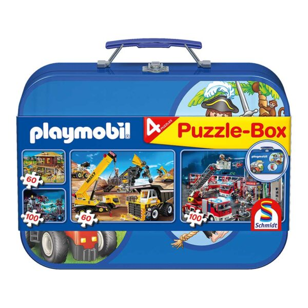 Maletín Multi Puzzle Playmobil