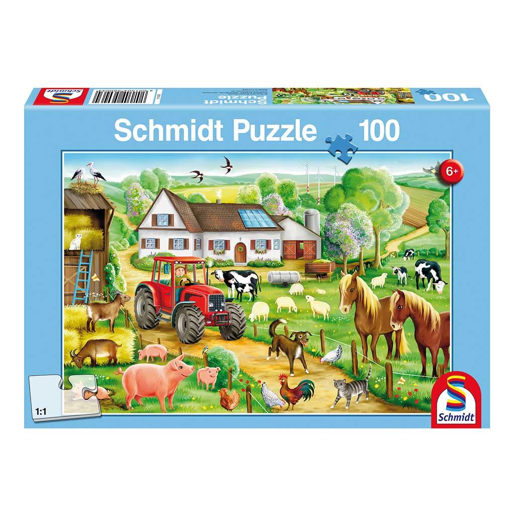 Puzzle Vida en la Granja