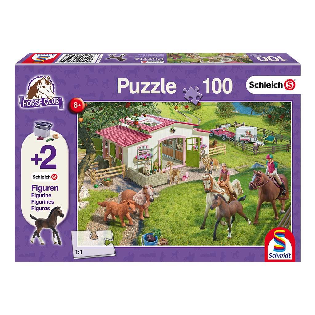 Puzzle Schleich Paseo a Caballo