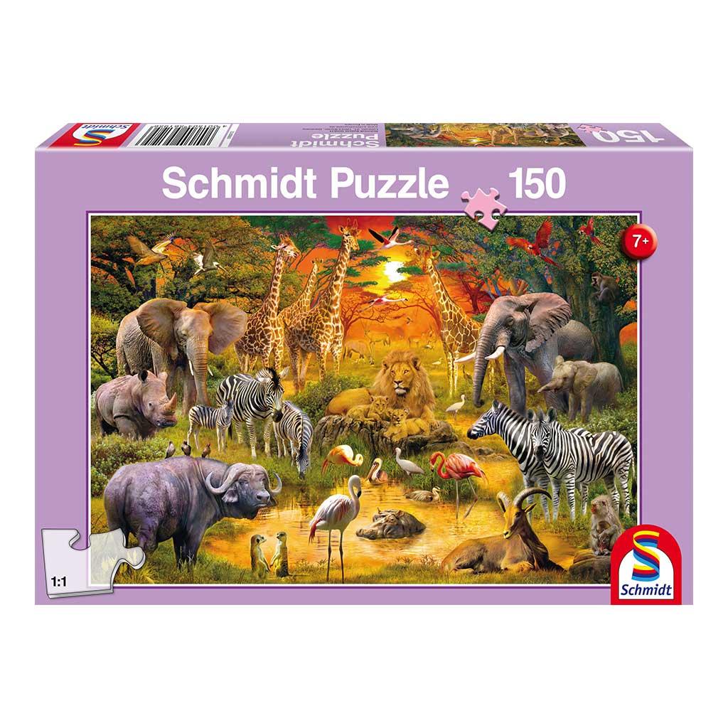 Puzzle Animales en África