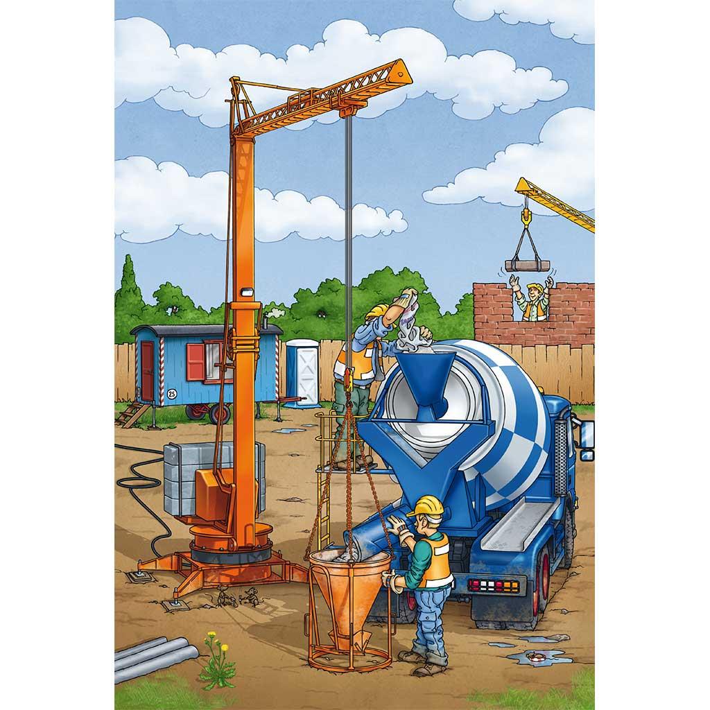 Puzzles Trabajos de Construcción 3x24 - 3