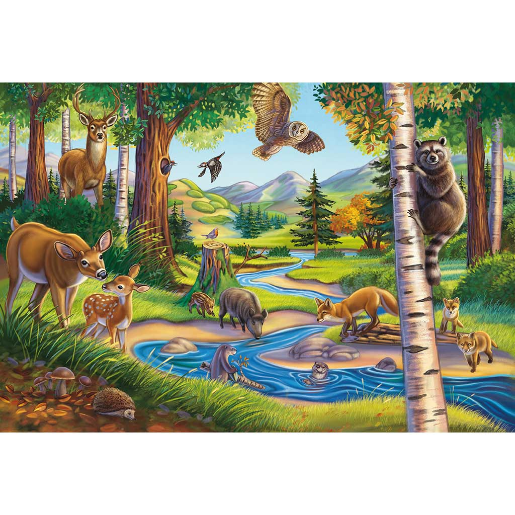 Puzzles Mis Animales Favoritos 3x48 - 1