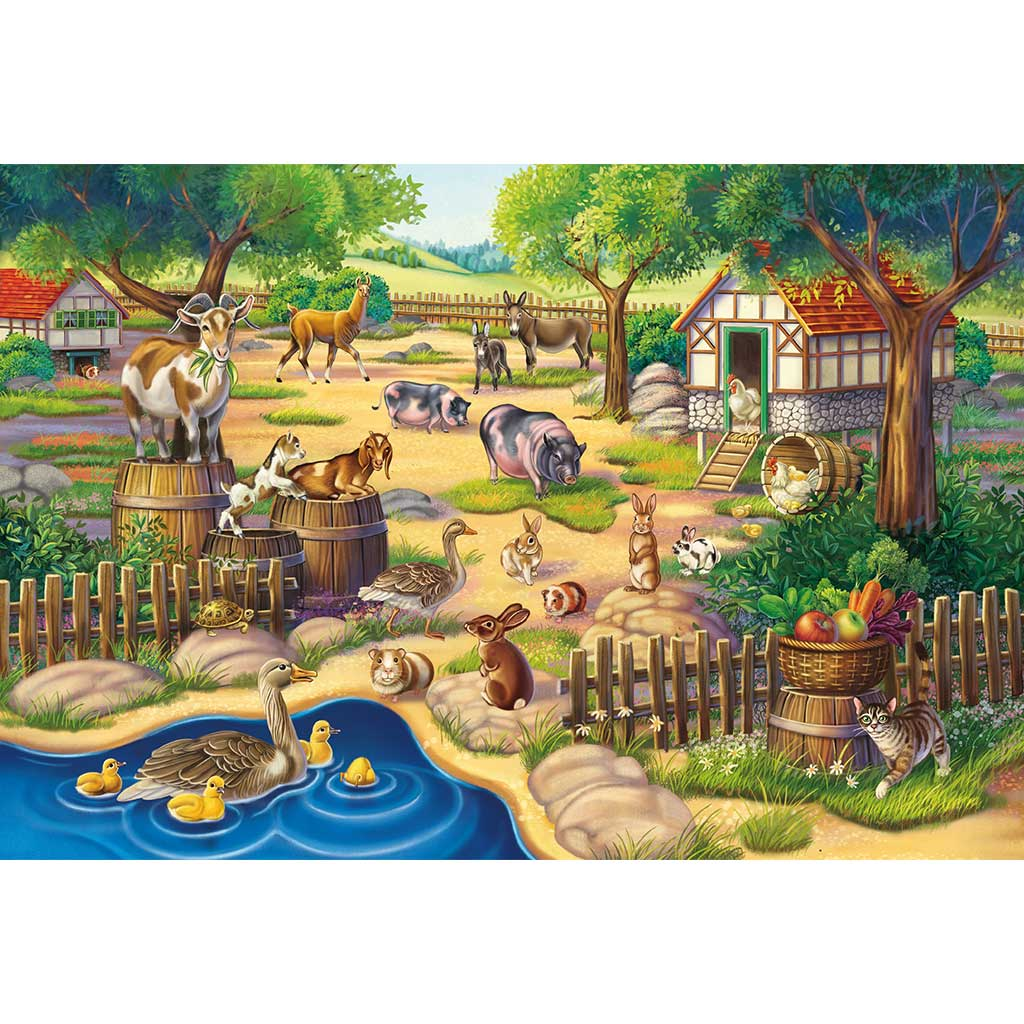 Puzzles Mis Animales Favoritos 3x48 - 2