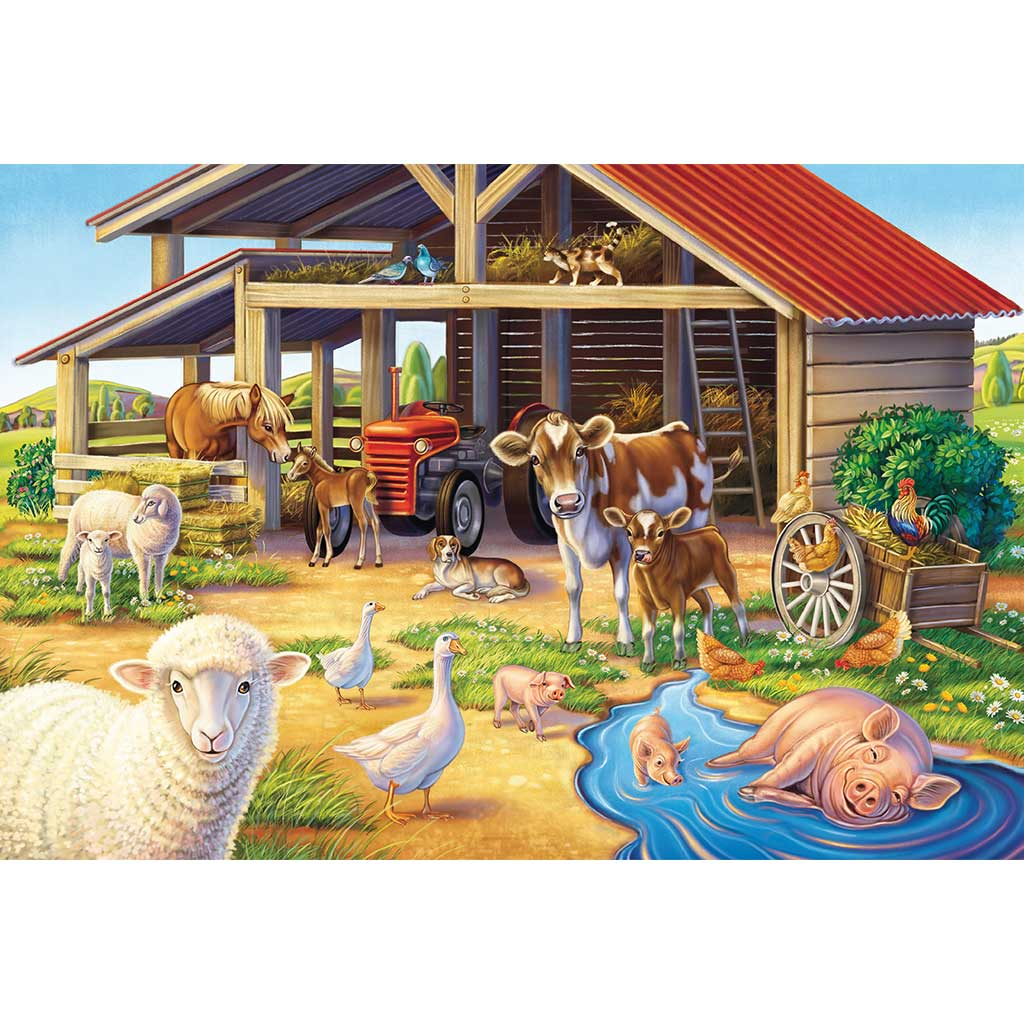 Puzzles Mis Animales Favoritos 3x48 - 3