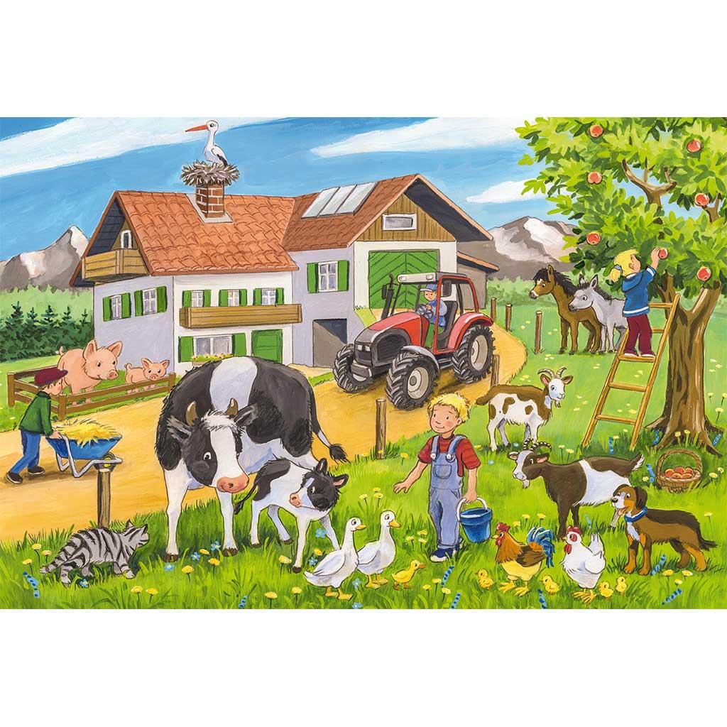 Puzzles Vida en La Granja 3x24 - 2