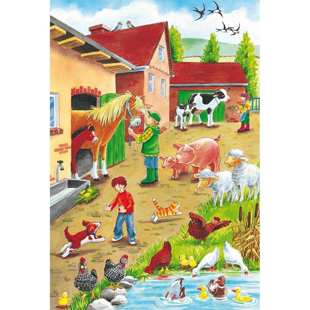 Puzzles Vida en La Granja 3x24 - 3