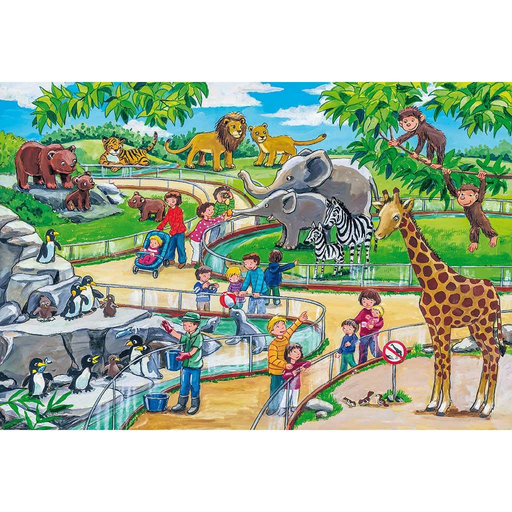 Puzzles Aventura en el Zoo 3x24 - 1