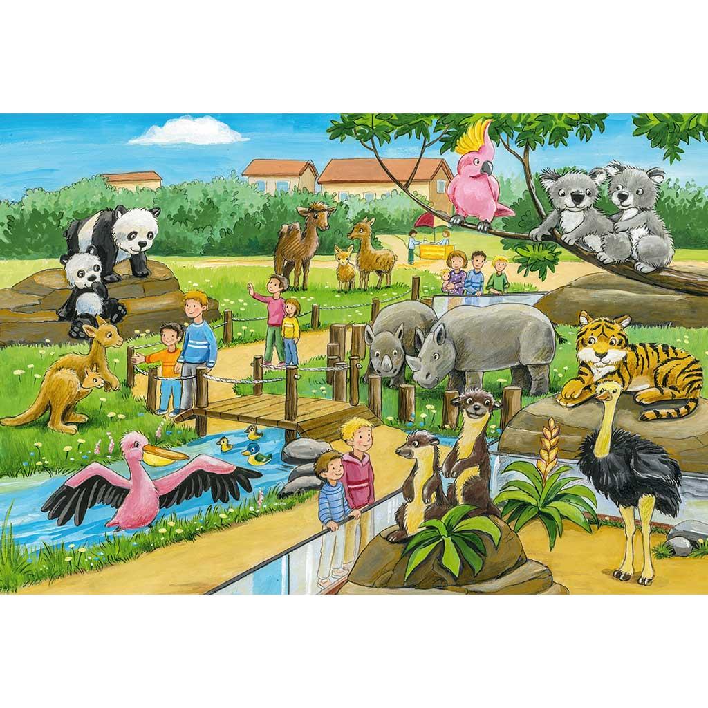 Puzzles Aventura en el Zoo 3x24 - 2