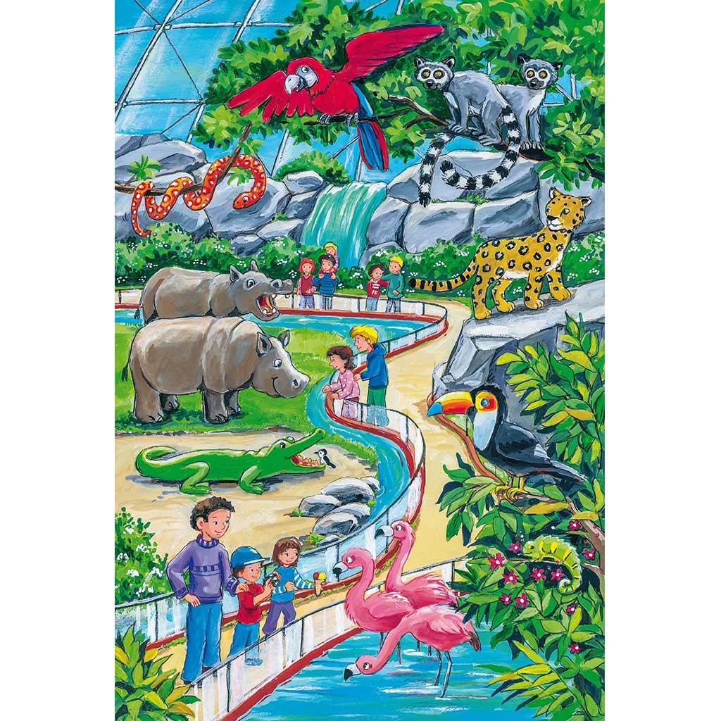 Puzzles Aventura en el Zoo 3x24 - 3