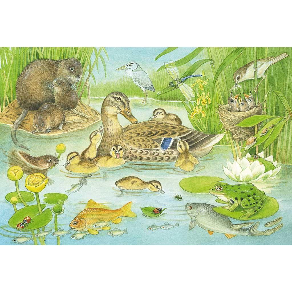 Puzzles La Familia de los Animales 3x48 - 2