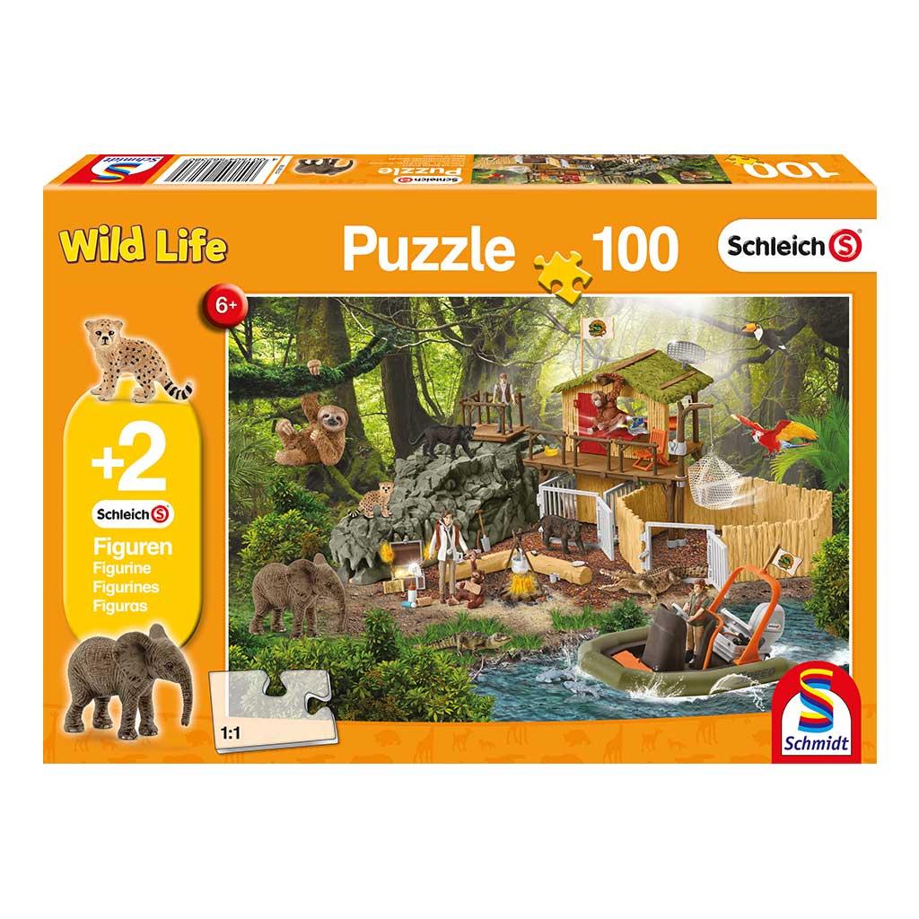 Puzzle Schleich Aventuras en la Selva