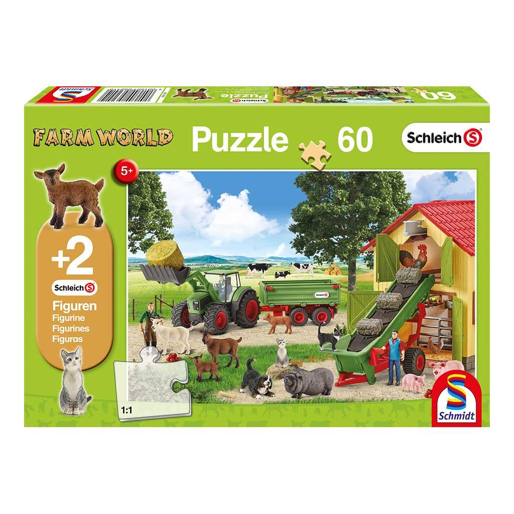 Puzzle Schleich Trabajo en la Granja