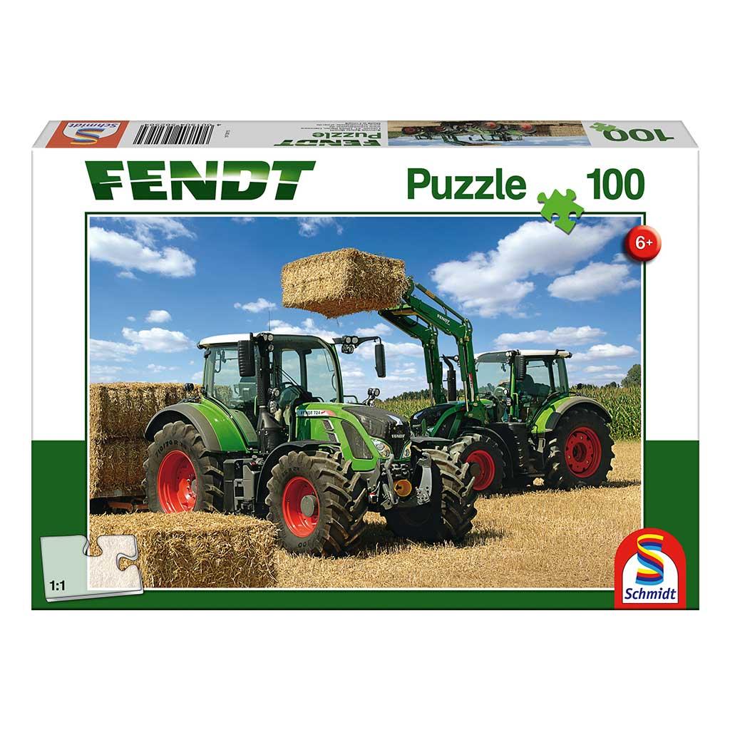 Puzzle Tractores Fendt 724 Vario y Fendt 716 Vario