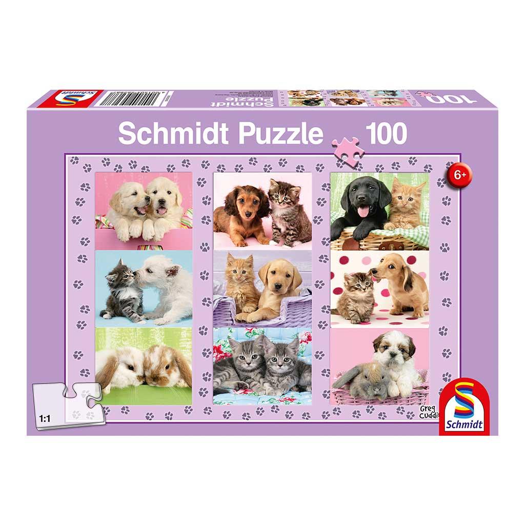 Puzzle Animales y Amigos