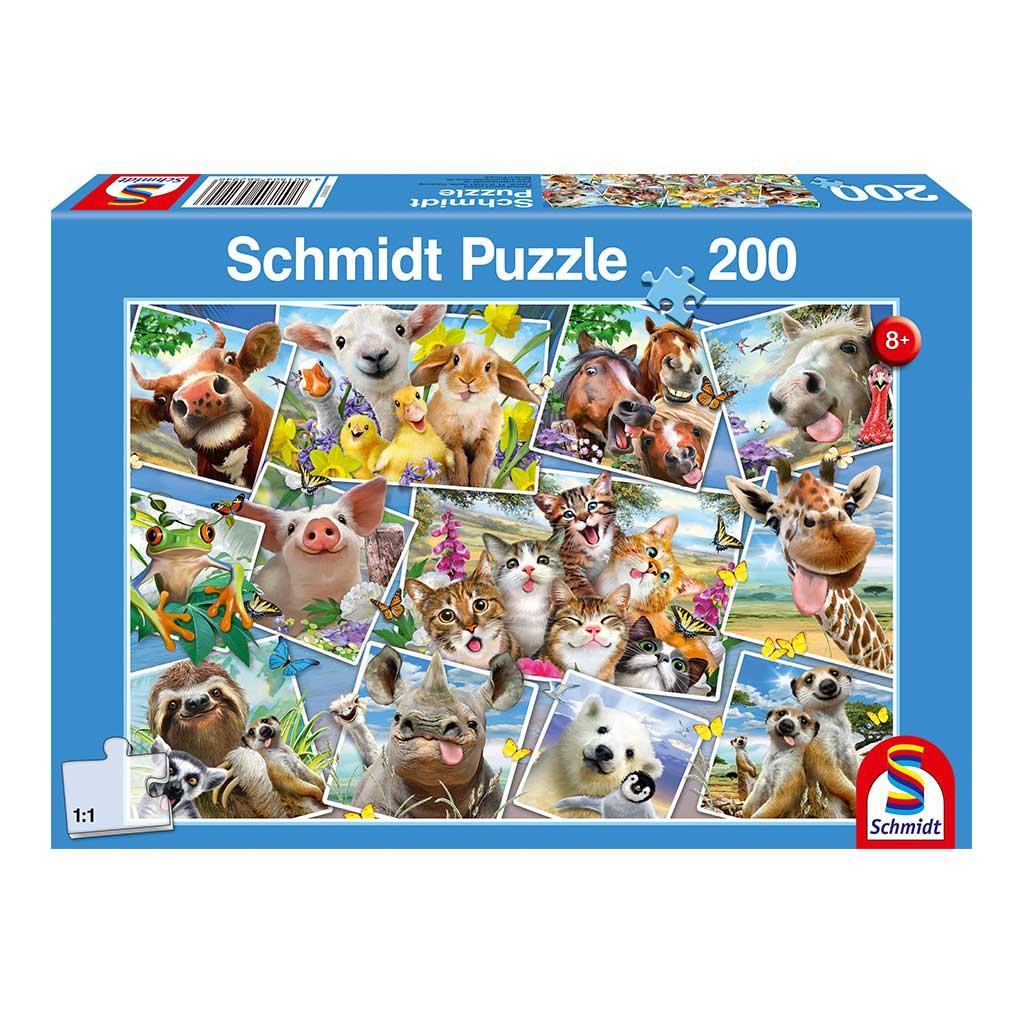 Puzzle Selfies de Animales