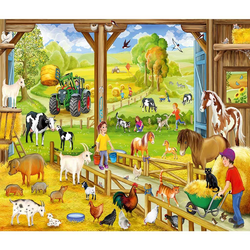 Puzzles Aventuras en la Granja 3x48 - 3