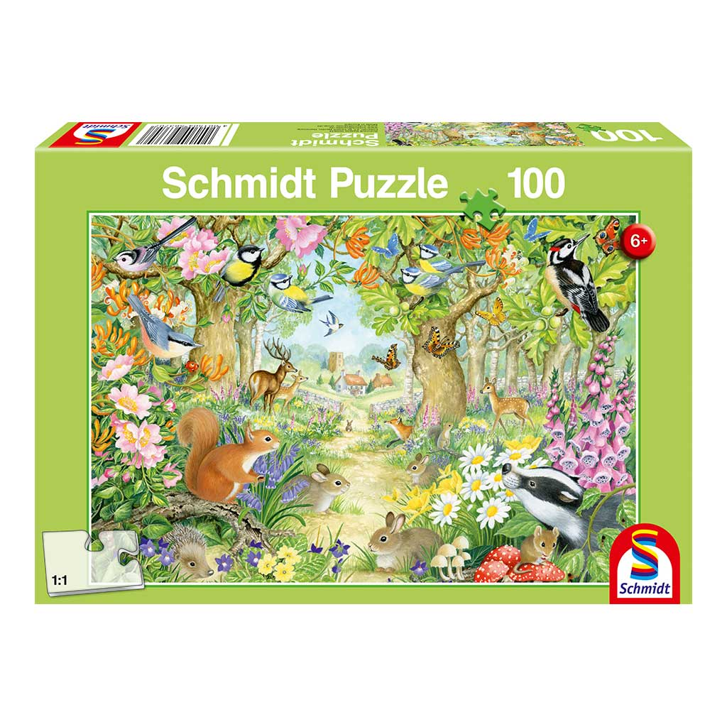 Puzzle Animales en el Bosque