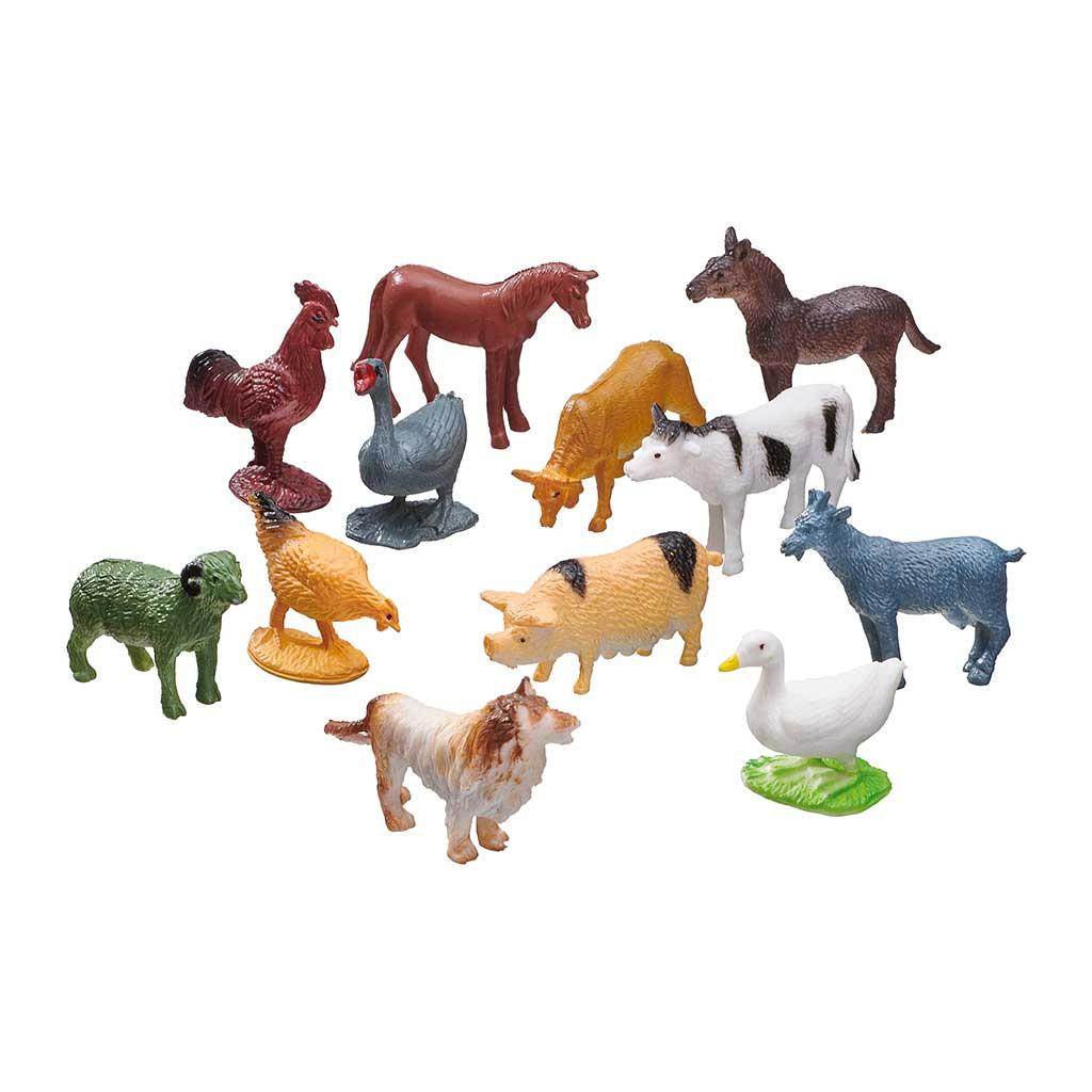 Puzzle de Granja y Animales de Juguete - 1