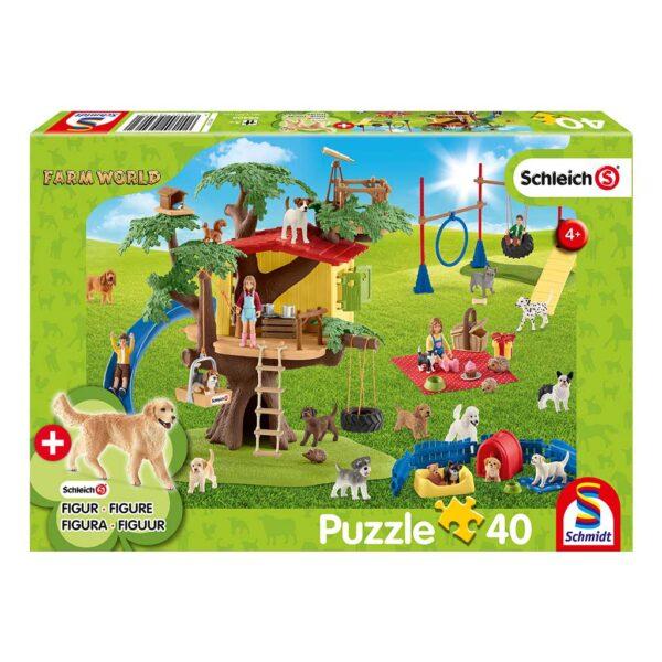 Puzzle Schleich Diversión en el Parque