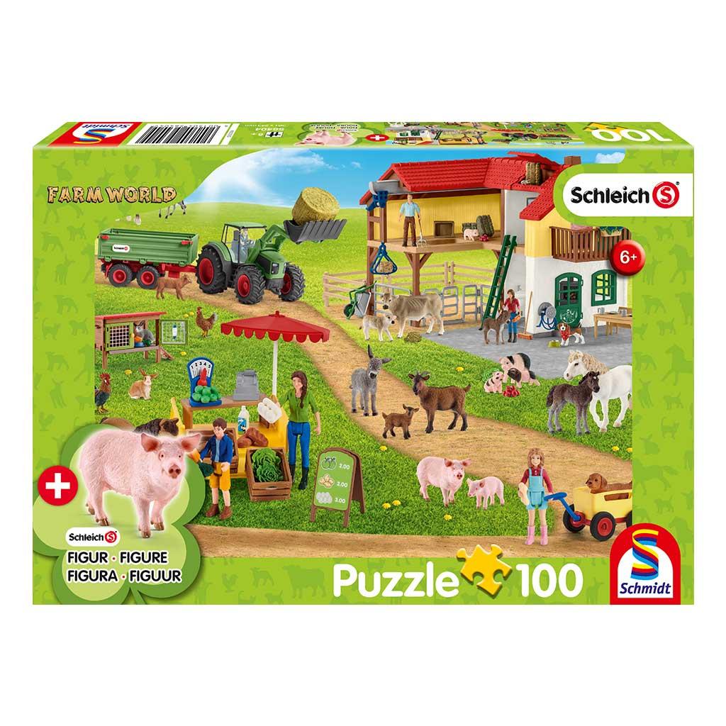 Puzzle Schleich Granja Ecuestre