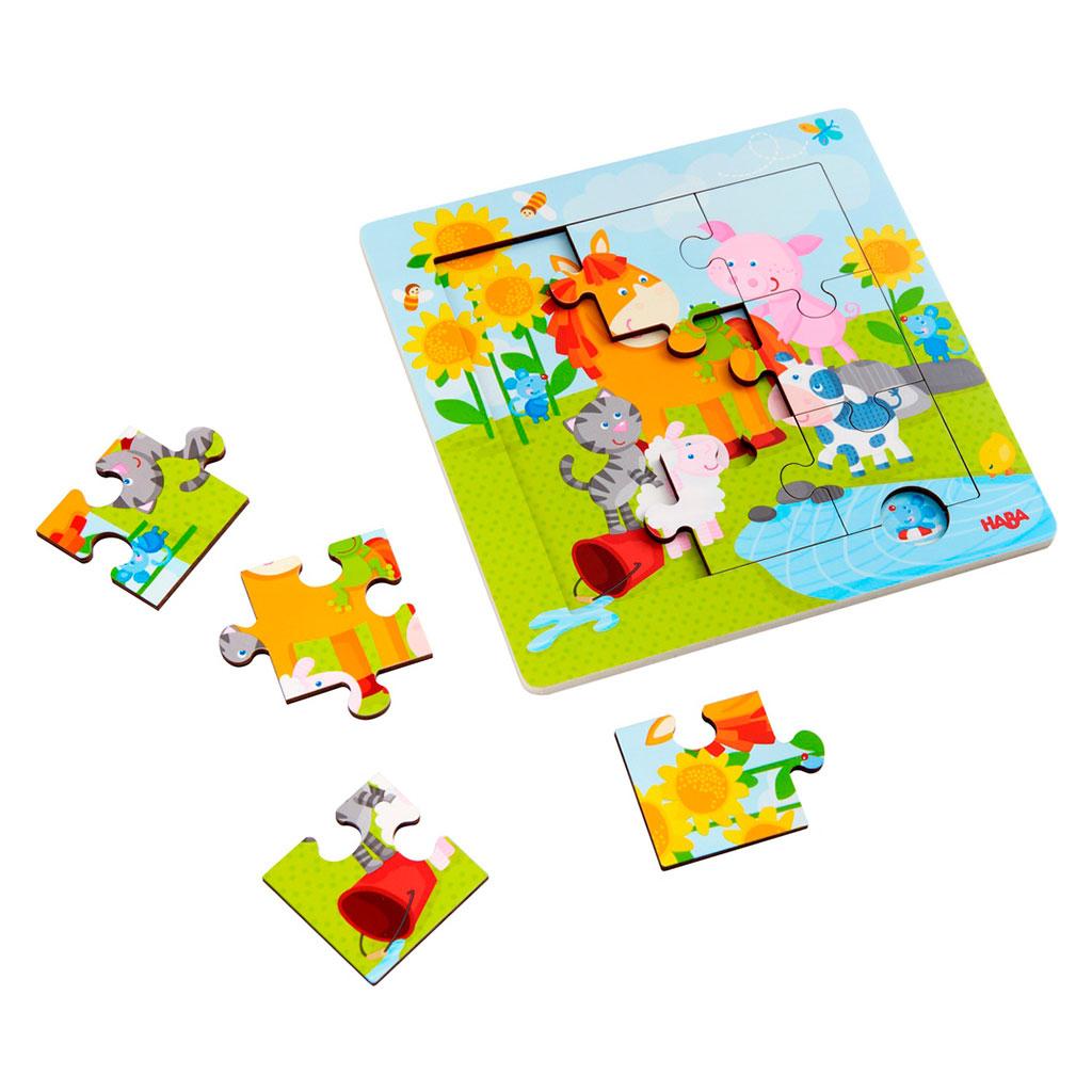 Puzzle Infantil Animales y Amigos - 1