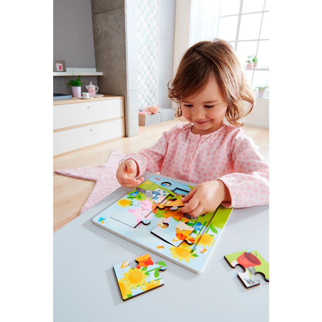 Puzzle Infantil Animales y Amigos - 2