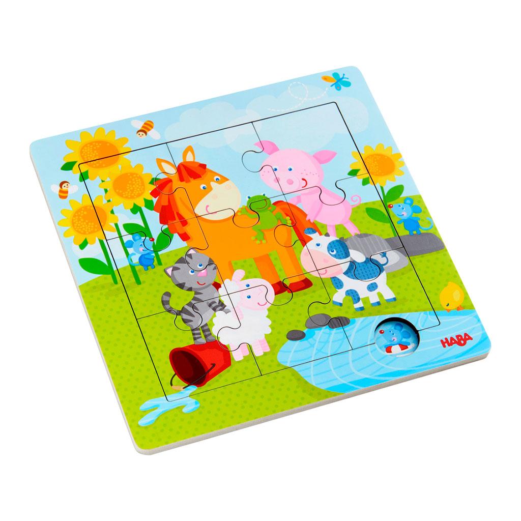 Puzzle Infantil Animales y Amigos