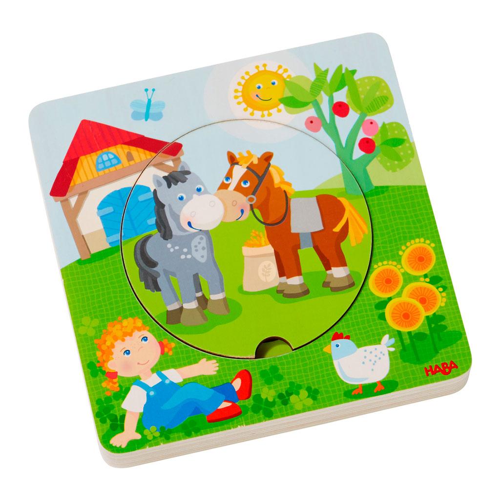 Puzzle Infantil El mundo de la Granja