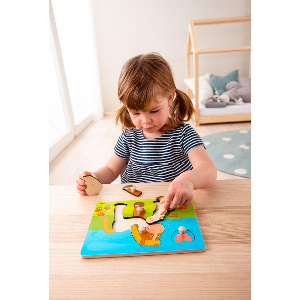 Puzzle Infantil Familia de Caballos - 2