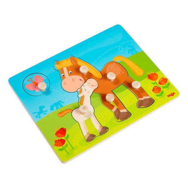 Puzzle Infantil Familia de Caballos
