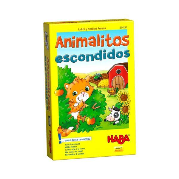 Juego de Mesa Animalitos Escondidos