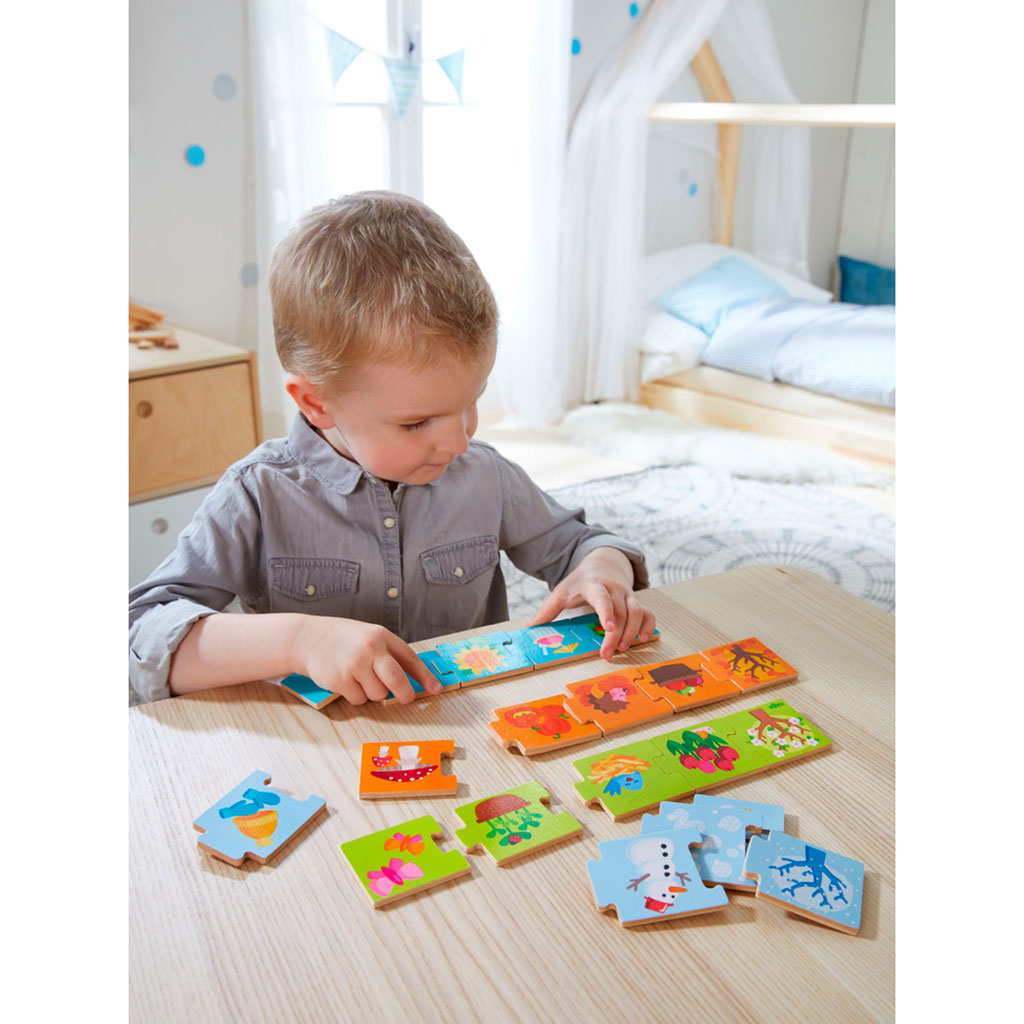 Puzzle Infantil Las Estaciones - 1